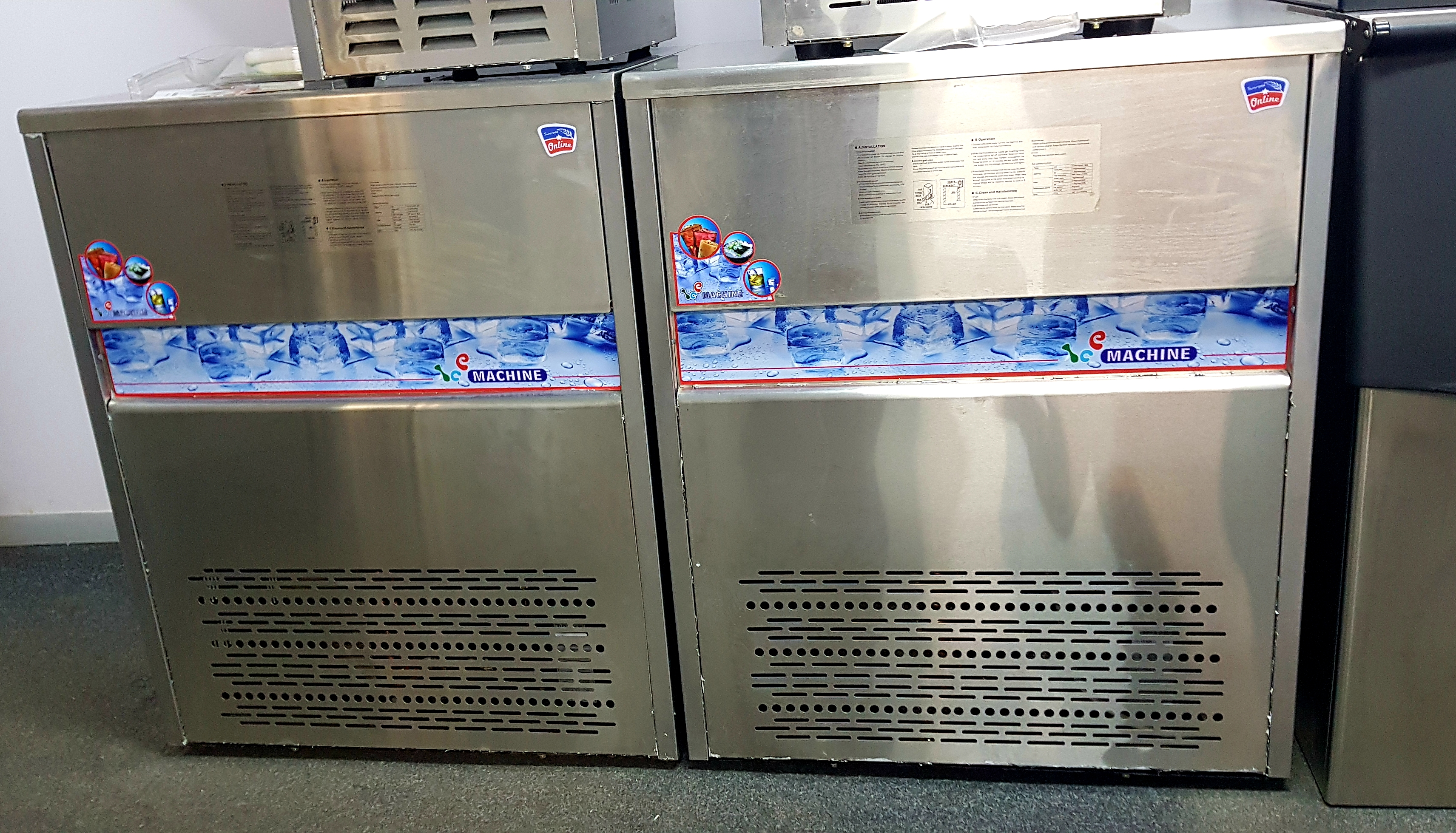 Ice Maker Machine Ice Cube Maker Portable Commercial