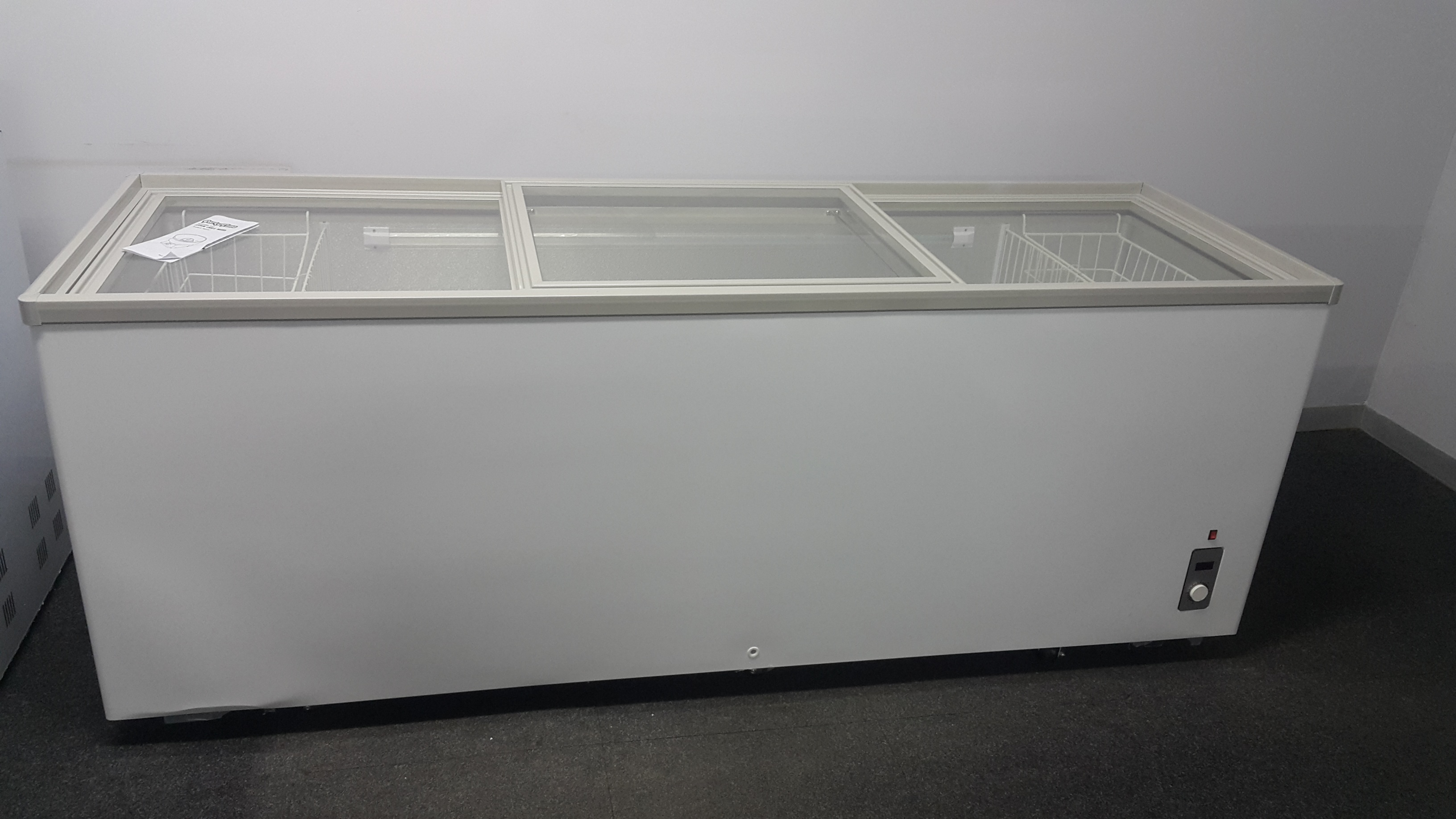 Glass Top Freezer For Sale Island Freezer Display