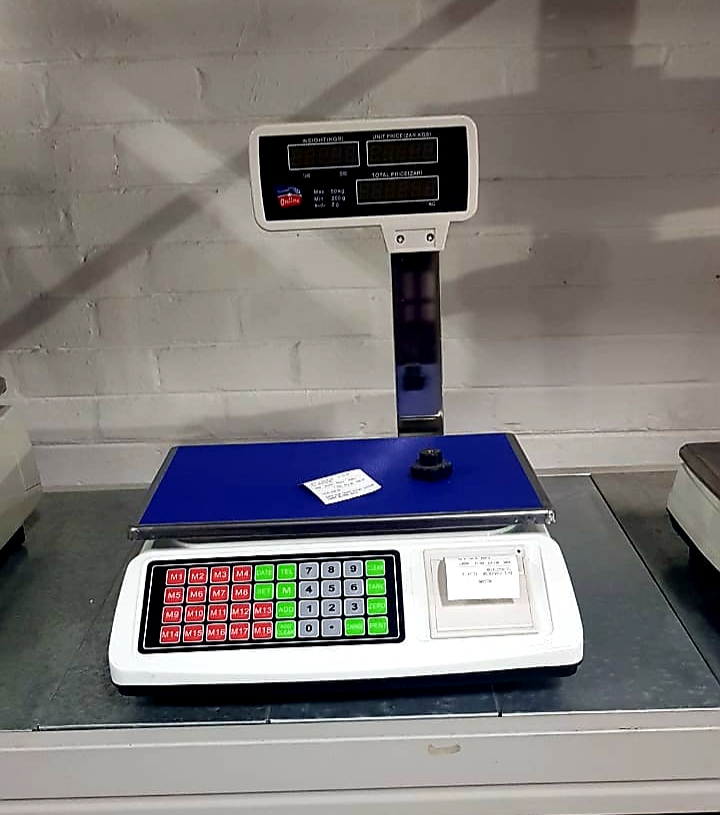 BUTCHERS SCALE WITH