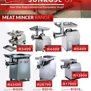MEAT GRINDER – MEAT MINCER – MINCER FOR SALE – MINCERS – MINCER MACHINE – FOOD GRINDERS