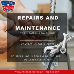 CATERING EQUIPMENT REPAIRS – CATERING EQUIPMENT MAINTENANCE – RESTAURANT EQUIPMENT REPAIR SERVICES