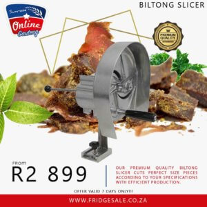 SPIRAL SLICER – BILTONG SLICER – VEGETABLE SLICER – ONION SLICER – BILTONG CUTTER – CARROT CUTTER