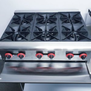 COMMERCIAL GAS STOVE – INDUSTRIAL GAS STOVE PRICE – GAS STOVE FOR RESTAURANT – OPEN BURNER GAS STOVE