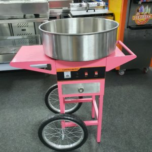 CANDY FLOSS MACHINE – CANDY FLOSS MACHINE FOR SALE – CANDY FLOSS MAKER ON WHEELS – COTTON CANDY MACHINE
