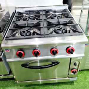 INDUSTRIAL GAS STOVE – GAS STOVE WITH OVEN – GAS HOB – GAS OVEN – STOVE OVEN – HOB STOVE – GAS STOVE AND GAS OVEN